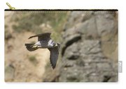 Peregrine Falcon In Flight Carry-all Pouch