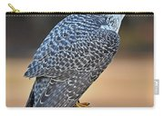 Peregrine Falcon Perched Carry-all Pouch