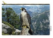 Peregrine Falcon, Yosemite Valley, Western Sierra Nevada Mountain, Echo Ridge Carry-all Pouch