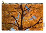 Perfect Autumn Day With Blue Skies Carry-all Pouch