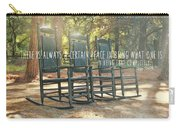 Perfect Peace Quote Carry-all Pouch