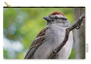 Perfect Profile - Chipping Sparrow Carry-all Pouch