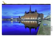 Perfect Riddarholmen Blue Hour Reflection Carry-all Pouch