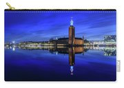 Perfect Stockholm City Hall Blue Hour Reflection Carry-all Pouch