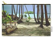 Perfect Tropical Paradise Islands With Turquoise Water And White Sand Carry-all Pouch