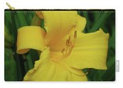 Perfect Yellow Daylily Flowering In A Garden Carry-all Pouch