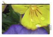Perfectly Pansy 11 Carry-all Pouch