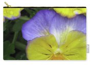 Perfectly Pansy 12 Carry-all Pouch