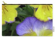 Perfectly Pansy 13 Carry-all Pouch