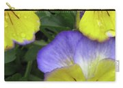 Perfectly Pansy 14 Carry-all Pouch