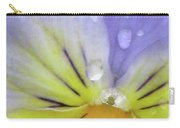 Perfectly Pansy 16 Carry-all Pouch