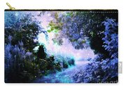 Fantasy Garden Path Periwinkle Carry-all Pouch