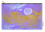 Periwinkle Moon Carry-all Pouch