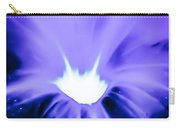 Periwinkle Petunia Carry-all Pouch