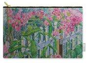 Perky Pink Phlox In A Dahlonega Garden Carry-all Pouch