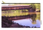 Perrine's Covered Bridge, Wallkill, Ny Carry-all Pouch