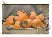 Persimmons In A Bucket Carry-all Pouch