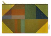 Perspective In Color Collage 8 Carry-all Pouch by Michelle Calkins