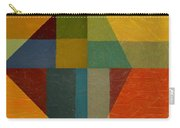 Perspective In Color Collage Carry-all Pouch by Michelle Calkins
