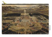 Perspective View Of The Chateau Gardens And Park Of Versailles Carry-all Pouch