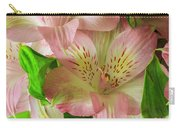 Peruvian Lilies In Bloom Carry-all Pouch by Richard J Thompson