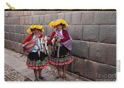 Peruvian Native Costumes  Carry-all Pouch