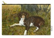 Pet Portrait - Springer Spaniel, Milly Carry-all Pouch