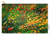 Poppy Petal Patch Carry-all Pouch
