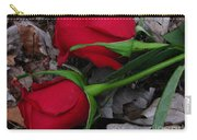 Petals And Leafs Carry-all Pouch