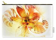 Petals Of Gold Carry-all Pouch