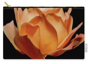 Petals Of Orange Sorbet Carry-all Pouch by DigiArt Diaries by Vicky B Fuller