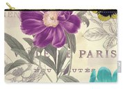 Petals Of Paris II Carry-all Pouch