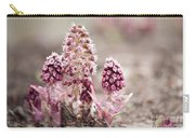 Petasites Hybridus Pink Flowers Carry-all Pouch