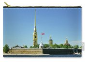 Peter And Paul Fortress. Saint Petersburg, Russia Carry-all Pouch