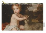 Peter Lely Portrait Of Princess Isabella 1676-1680 Daughter Of King James II And Mary Of Modena Carry-all Pouch