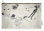 Peter Pan Quote Carry-all Pouch