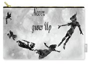 Peter Pan-black Carry-all Pouch