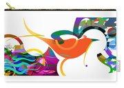 Petit Oiseau De Paradis Carry-all Pouch