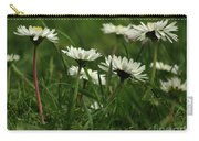 Petite Daisies 5 Carry-all Pouch