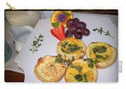 Petite Quiche Carry-all Pouch