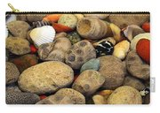 Petoskey Stones With Shells Ll Carry-all Pouch