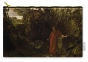 Petrarch By The Fountain Of Vaucluse Carry-all Pouch