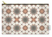 Petrified Folk Tapestry Carry-all Pouch