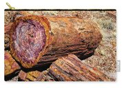 Petrified Log Carry-all Pouch