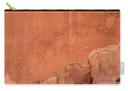 Petroglyphs In Capital Reef Carry-all Pouch