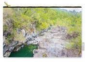 Petrohue River In Vicente Perez Rosales National Park Near Puerto Montt-chile Carry-all Pouch