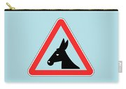 Petting Bigstock Donkey 171252860 Carry-all Pouch
