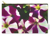 Petunias With A Flare Carry-all Pouch