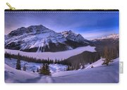 Peyto Lake Lookout Panorama Carry-all Pouch