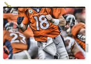 Peyton Manning Art 2 Carry-all Pouch